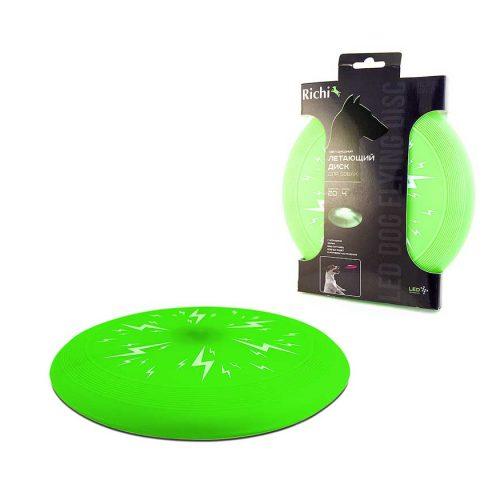 Летающий-диск-зеленый