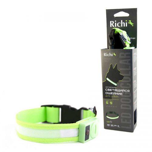 Ошейник-зеленый,лента-1011,1021,