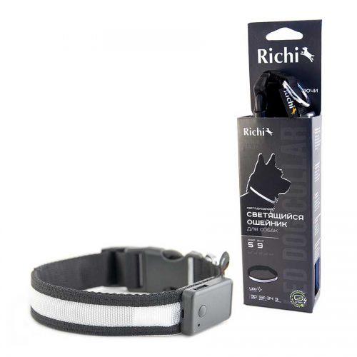 Ошейник-с-USB-черный,лента-2014,2024,2034