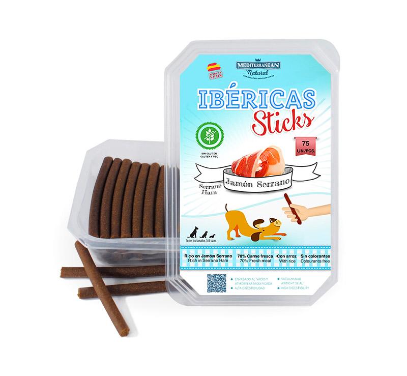IBERICAS Sticks Лакомство для Собак Ветчиные палочки 900 гр. 75шт.
